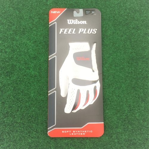 Wilson Feel Plus Heren  Links Golfhandschoen