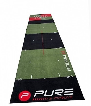 Pure-2-Improve Golf Puttingmat  65x300 cm