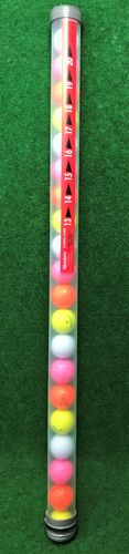 Original Clikka Tube met 20 golfballen Mix
